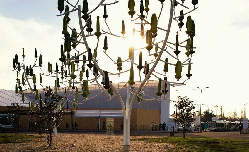The Wind Tree The Organically Inspired Wind Turbine
