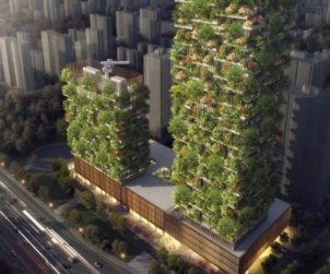 Nanjing Towers Stefano Boeri Architects