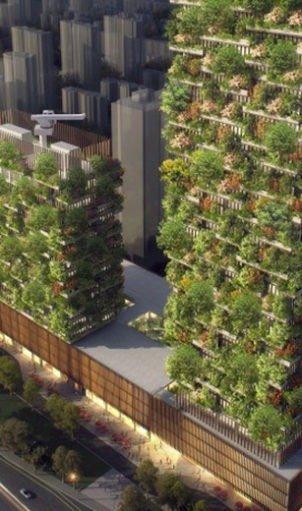 Nanjing Towers Stefano Boeri Architects
