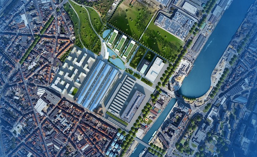 Tour & Taxis masterplan by Vincent Callebaut