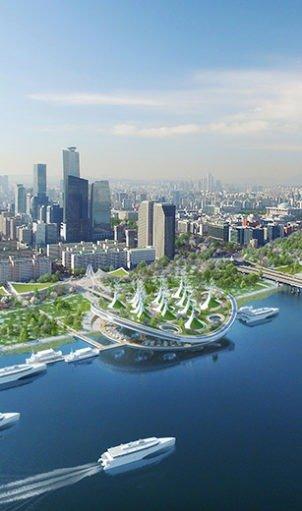 Vincent Callebaut installe ses «Raies Manta» à Séoul