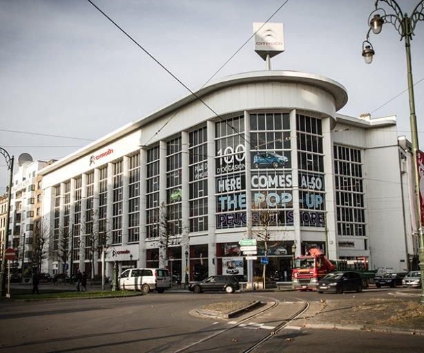 garage et ateliers Citroën - YserBXL - 1