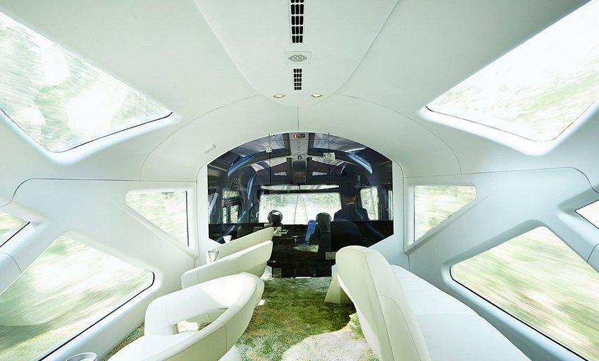 Un hôtel de luxe à 100 km/h