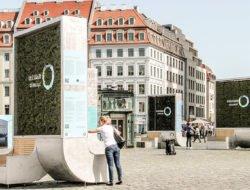 Quand le mobilier urbain absorbe la pollution
