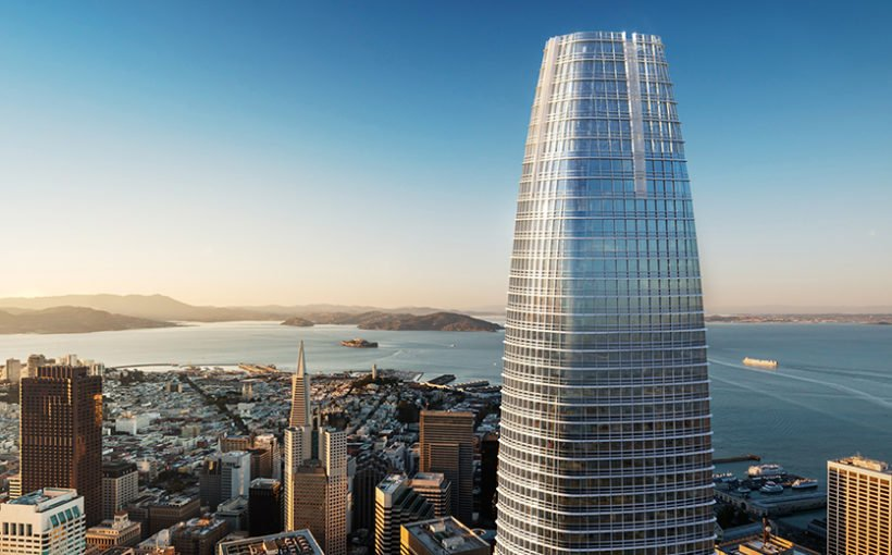 Saleforce Tower - San-Francisco © Pelli Clarke Pelli Architects