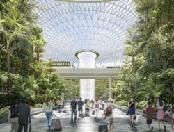 Jewel Changi © Safdie Architects
