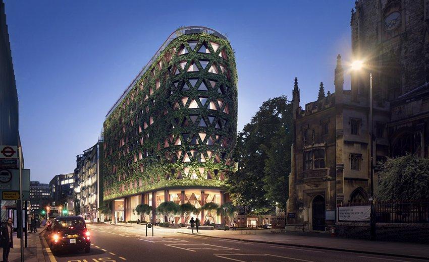 Un hotel à Londres pour absorber la pollution