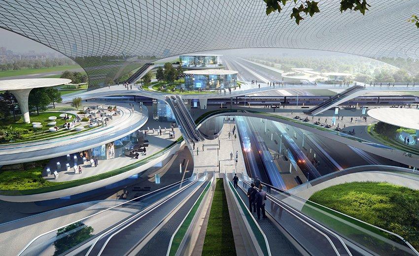 Varsovie : les plus grands architectes britanniques imaginent le futur aéroport
