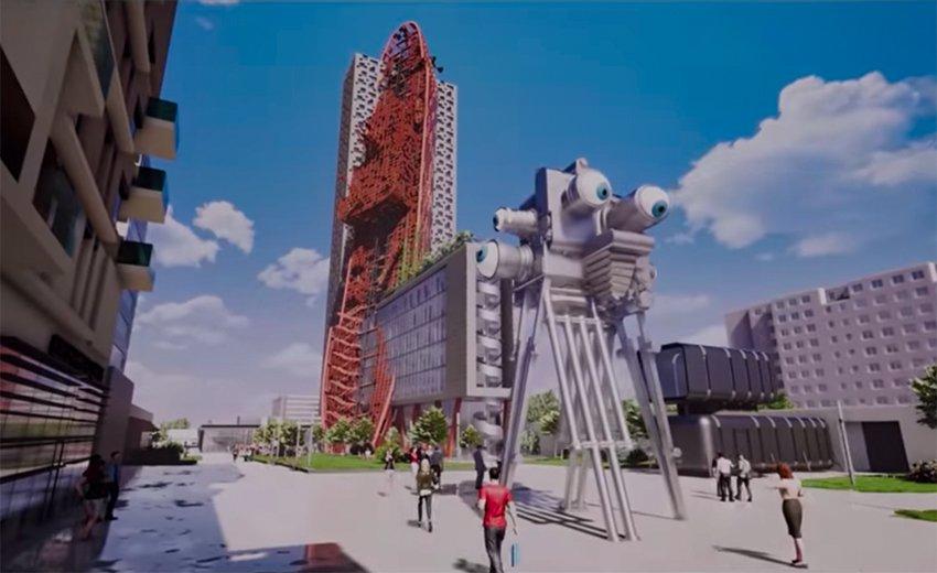 La plus haute tour de Prague sera un monument post-apocalyptique