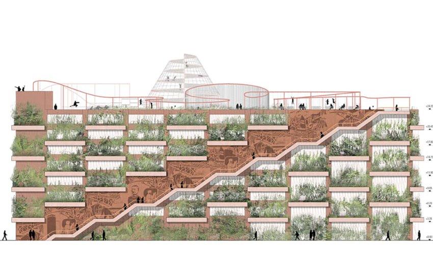 Copenhague Rasmus Hjortshoj coast - Park'N'Play © Jaja-architects - Rama studio