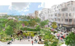Une visualisation de la future «ville-bureau» qui sera construite par Google © Google