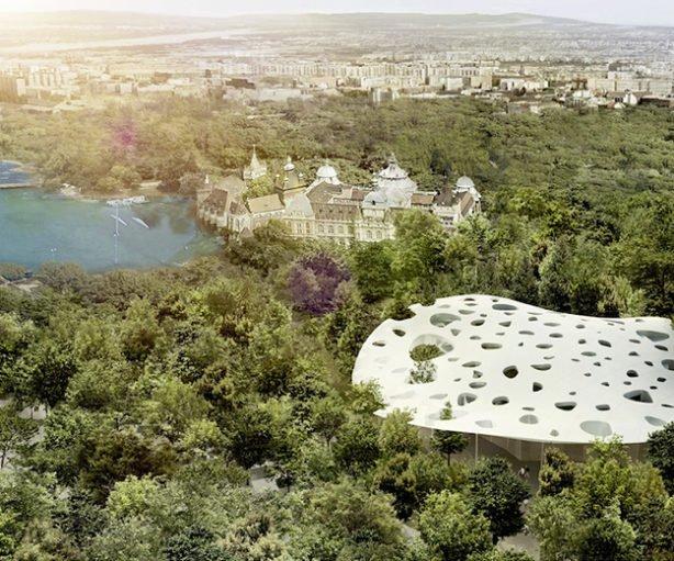 Liget Budapest © Sou Fujimoto Architects