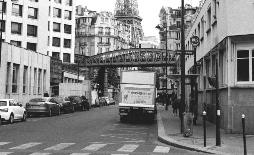 Paris Paris livraison © Thomas Habr