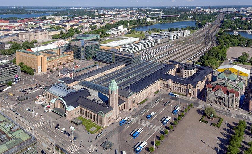 Helsinki - Gare centrale © Iikka Airas
